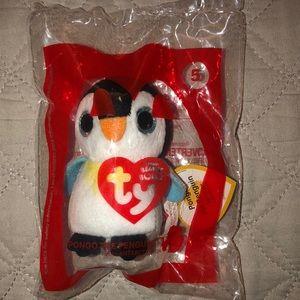 McDonald's teenie beanie boos penguin